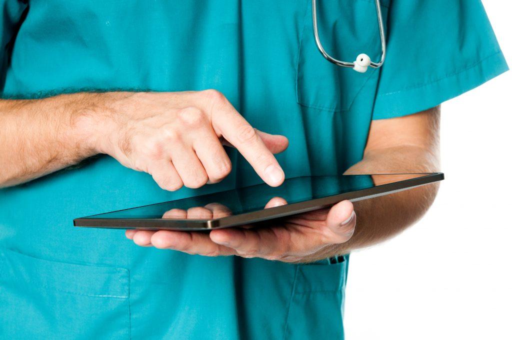 Surgeon using medical technology