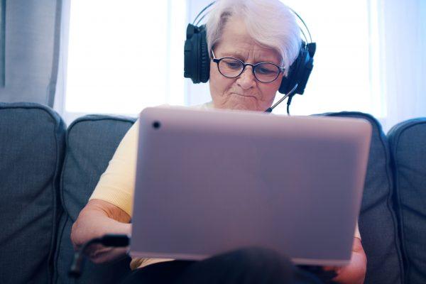 elderly struggling with technology